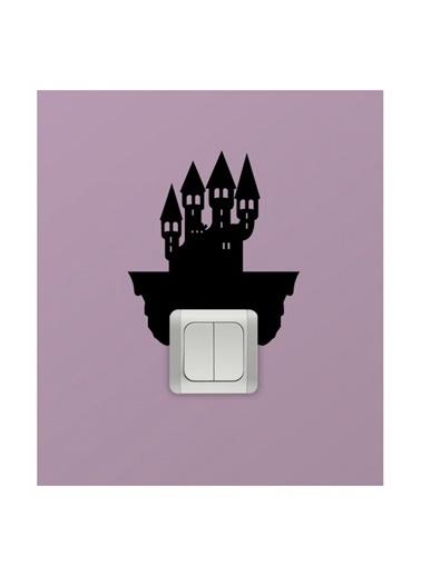 Disney Şato Priz Sticker Renkli